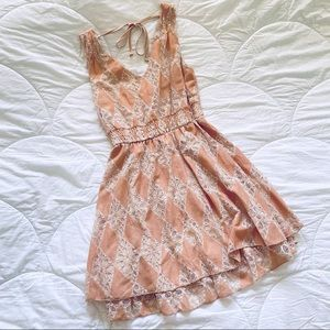 American Rag - pink/peach Spring Tea Dress